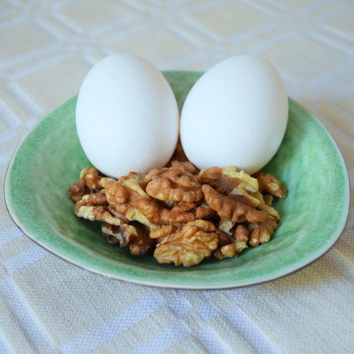 ägg och nötter