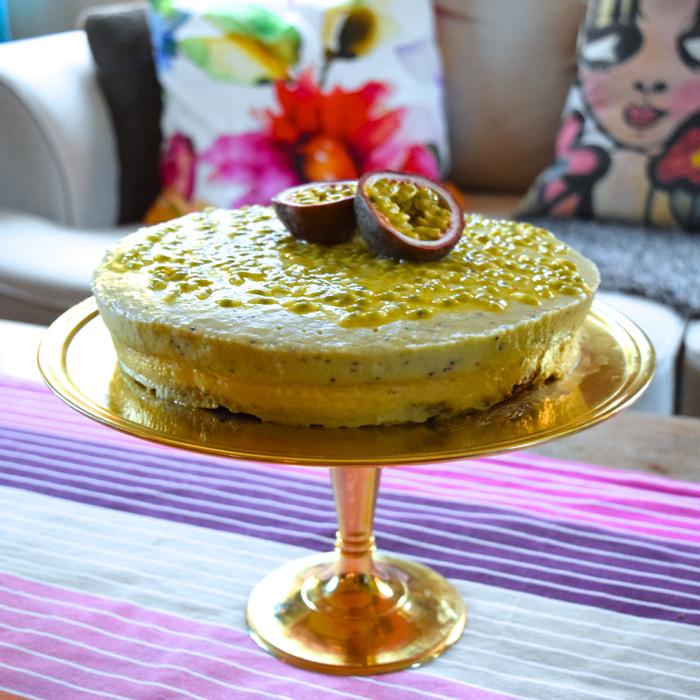 exotisk tårta