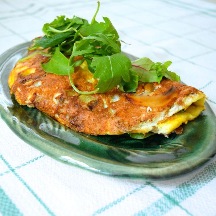 lätt omelett
