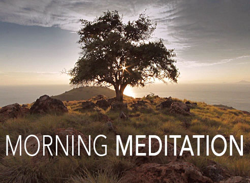 friday morning meditation