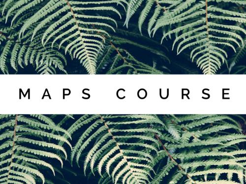 maps course utah