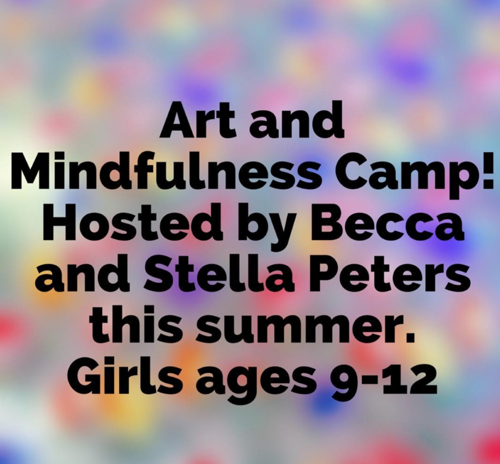 art and mindfulness camp