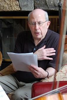 Juilliard professor and composer Michael White
