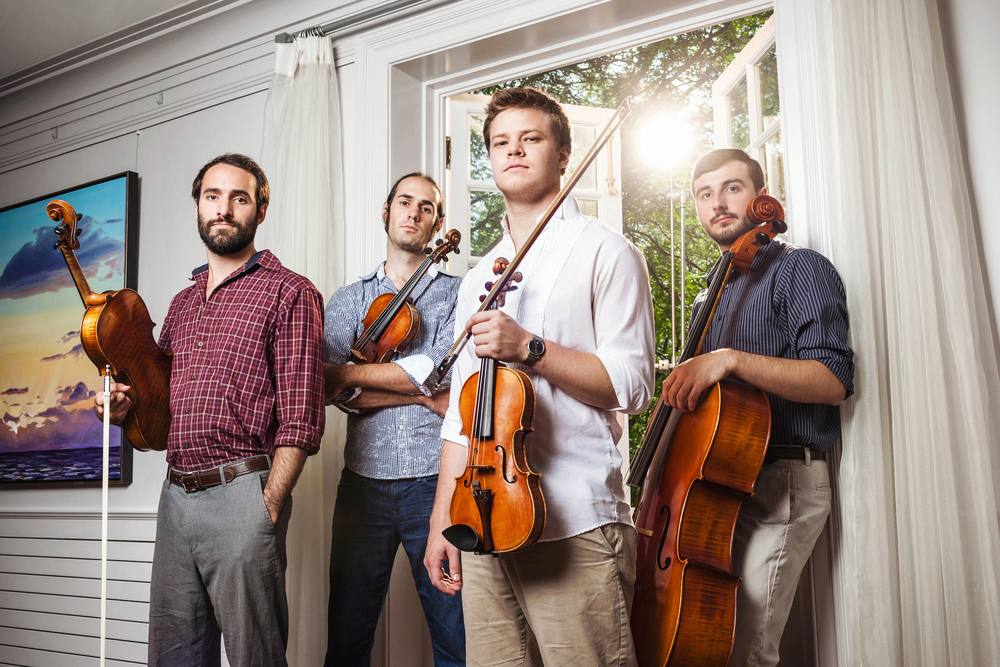 The 2015 Fellowship Quartet: invoke.