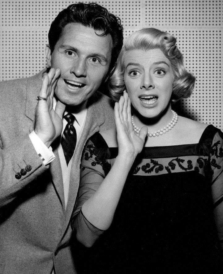 John Raitt and Rosemary Clooney