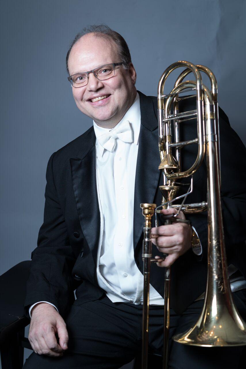 Harold Van Schaik, trombone