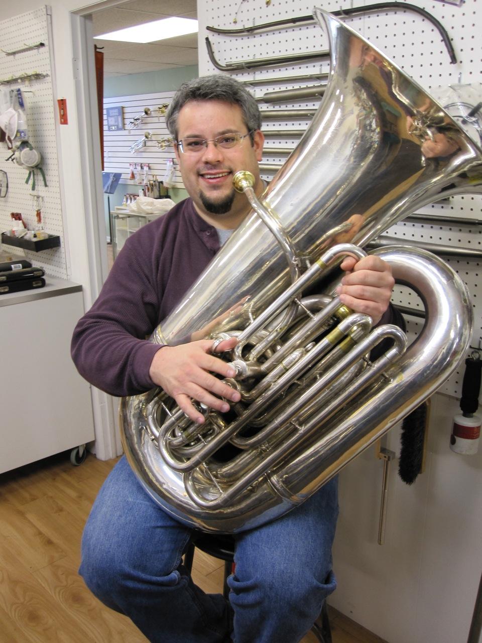 Josh Wirt, tuba