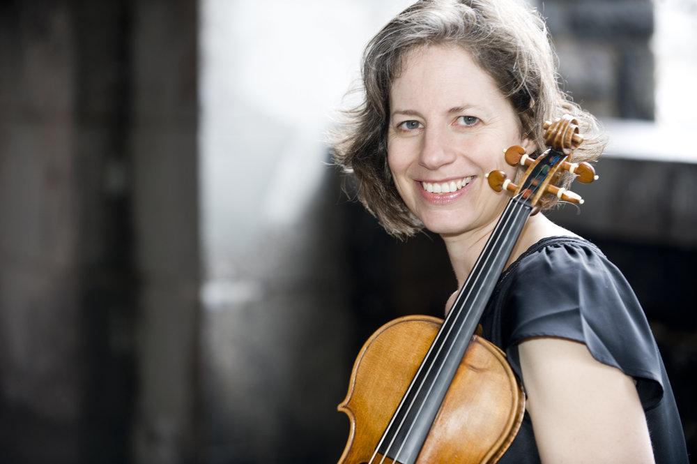 Andrea Schultz, violin