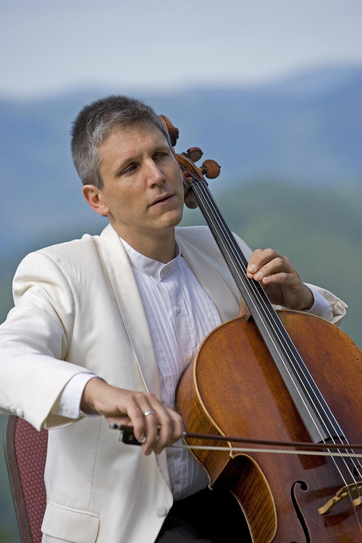 Wesley Baldwin, cello