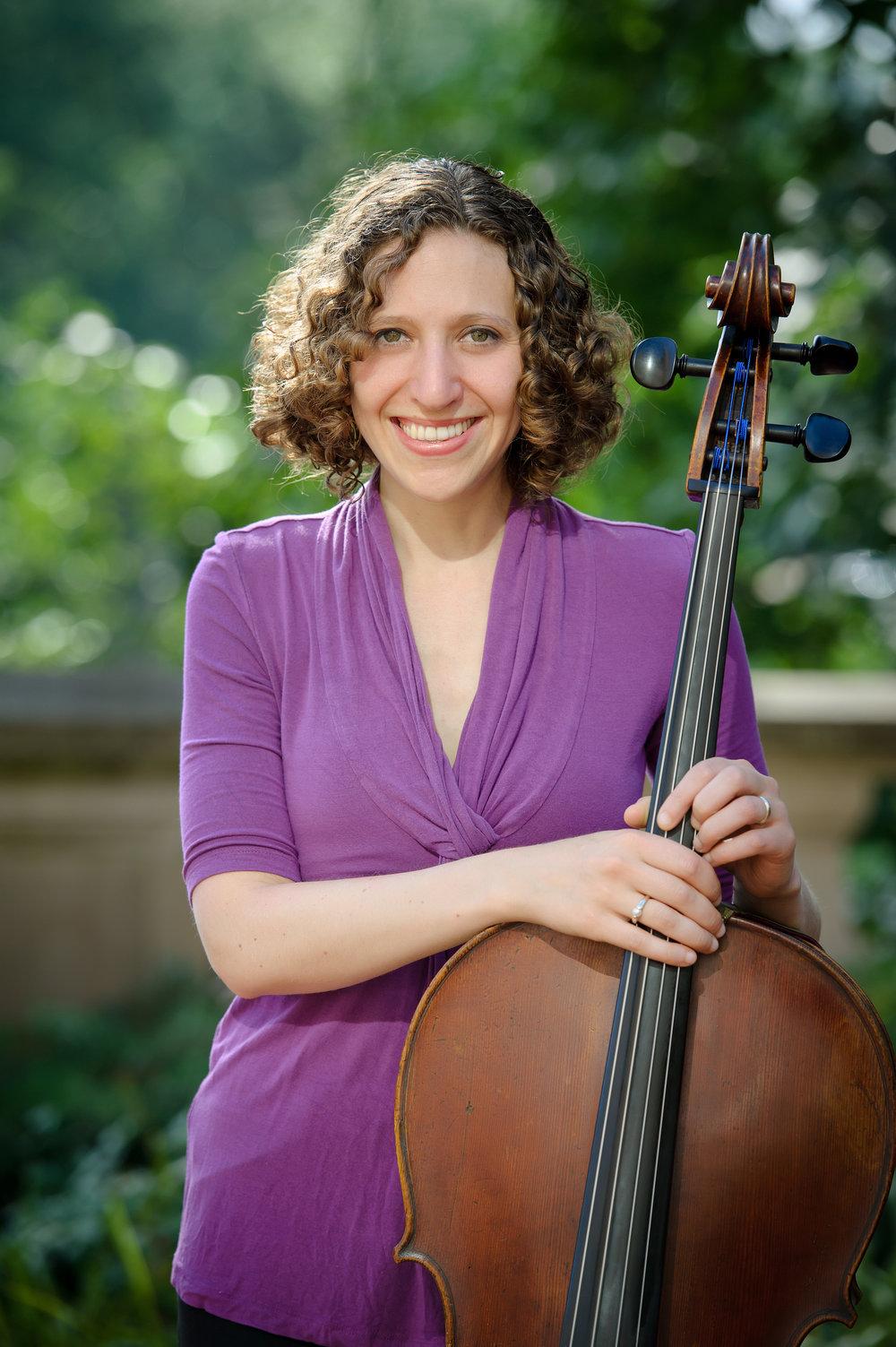 Sara Sitzer, cello
