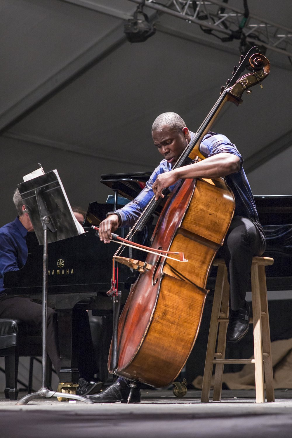 Joseph Conyers performing at the 2016 Wintergreen Summer Music Festival