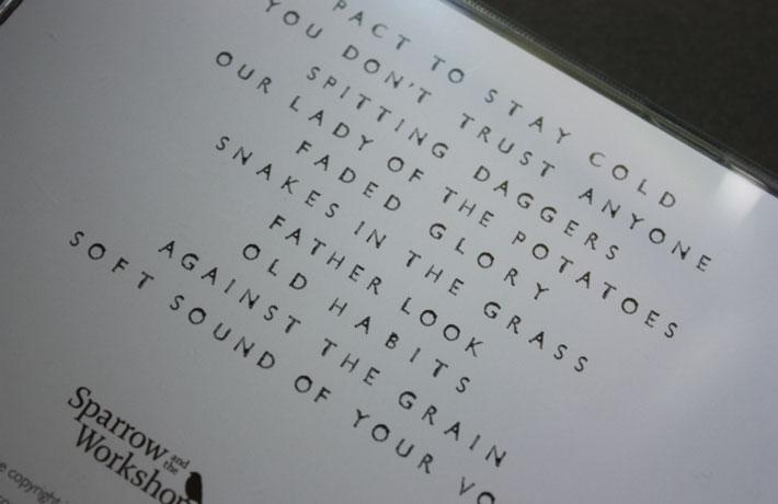 S&tW CD track listing