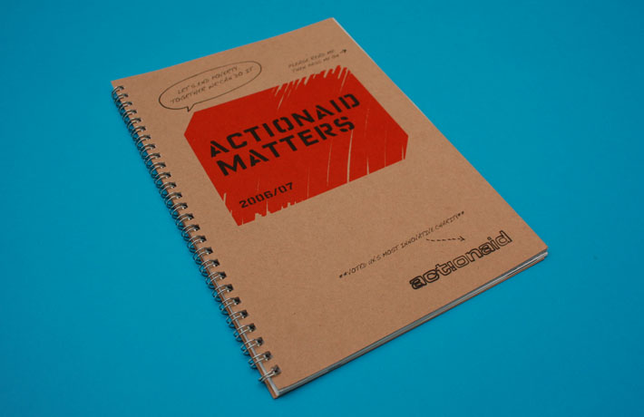 ActionAid Annual Review - cover