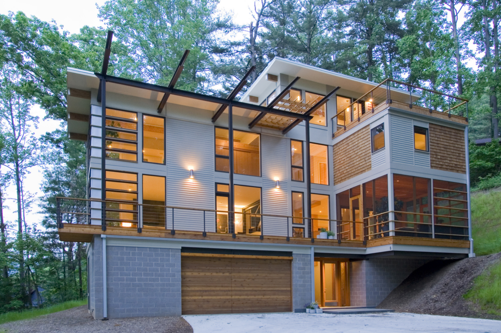 Hoyle Lane Residence    |   Asheville, North Carolina