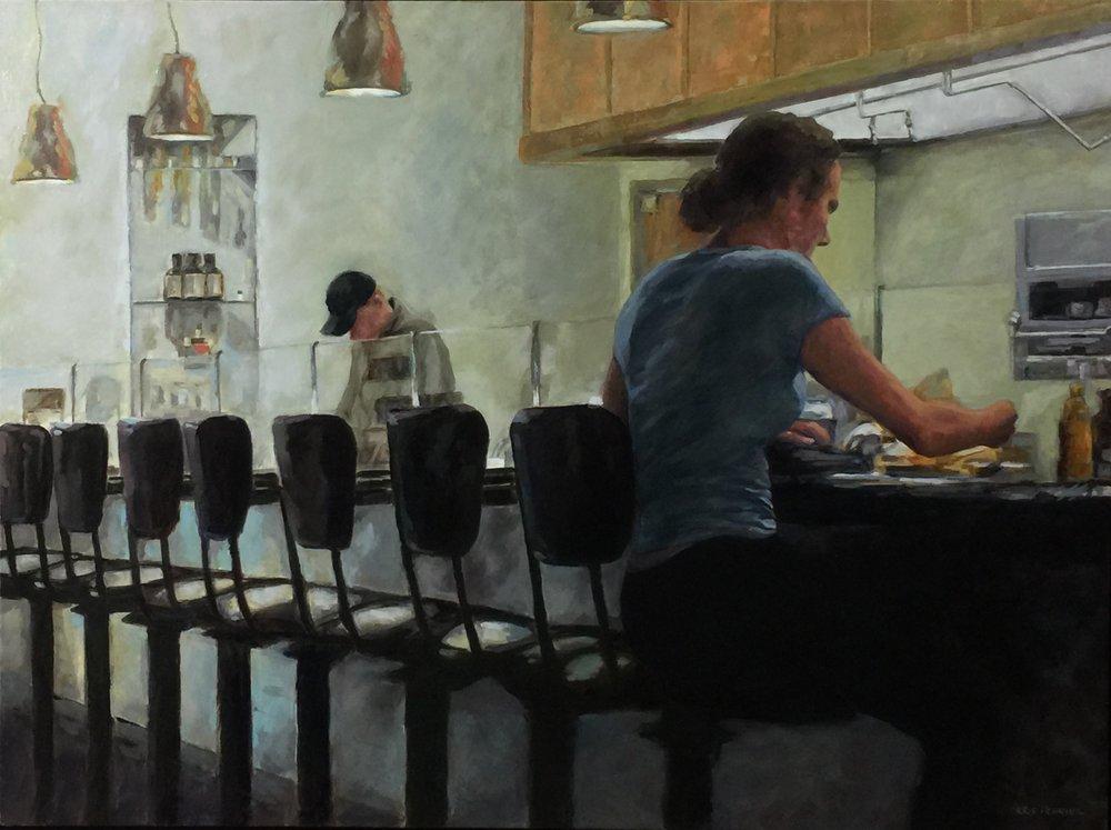 Diner in Solitude