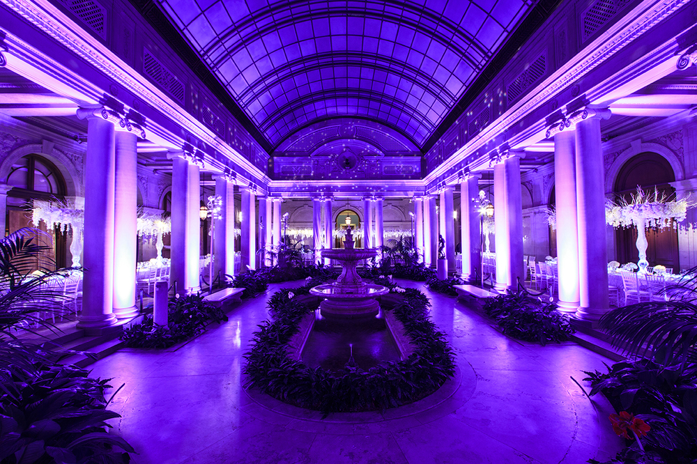 As always Levy Lighting | NYC brilliantly blended the tech into the space by using wireless pinspots skinny pipes and masks for the uplights. & Wedding at the Frick Collection with Preston Bailey u2014 Levy NYC ... azcodes.com
