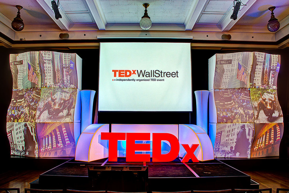 TEDx at New York Stock Exchange