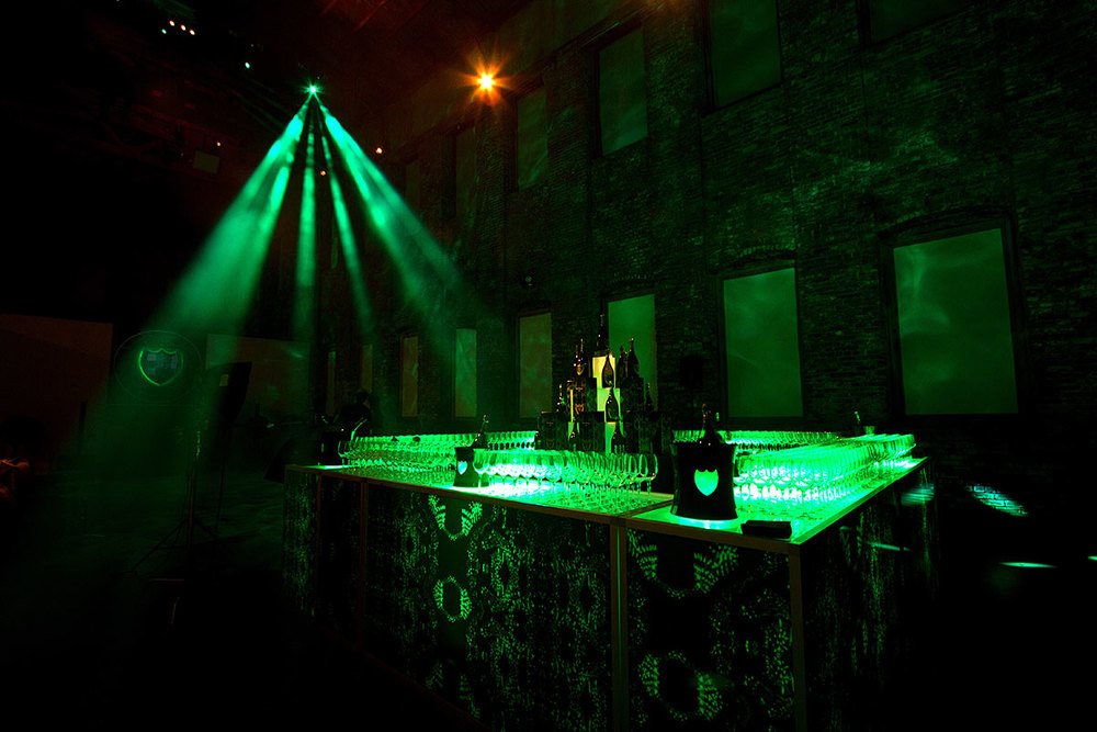 Dom Perignon at Pioneer Works