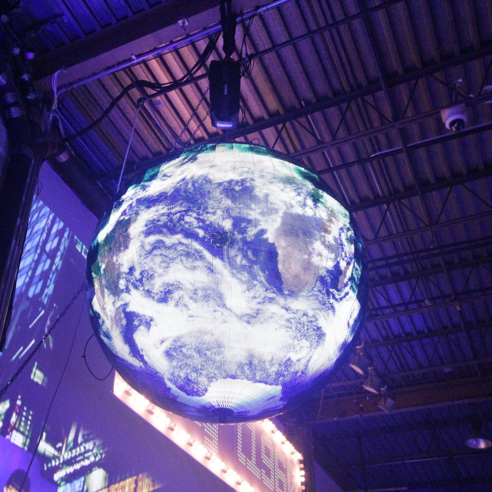 6 fOOT led Sphere