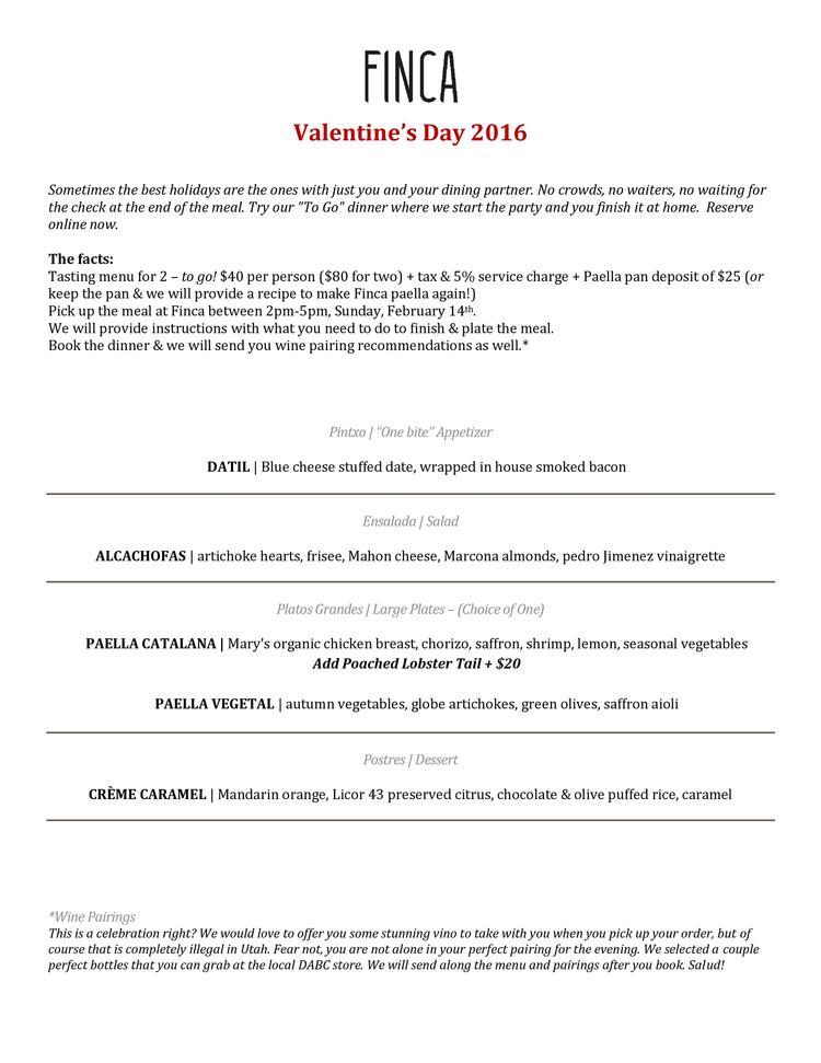 FINCA Valentine's Day