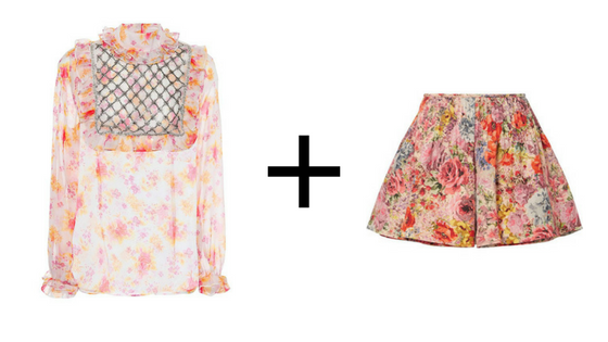 here's the top  &  here's the skirt