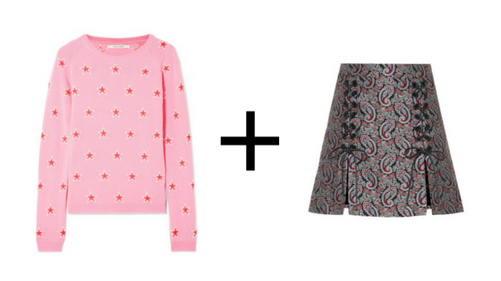 here's the jumper  &  here's the skirt