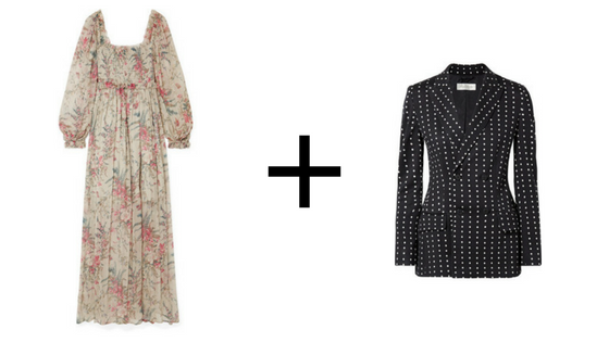 here's the dress  &  here's the blazer