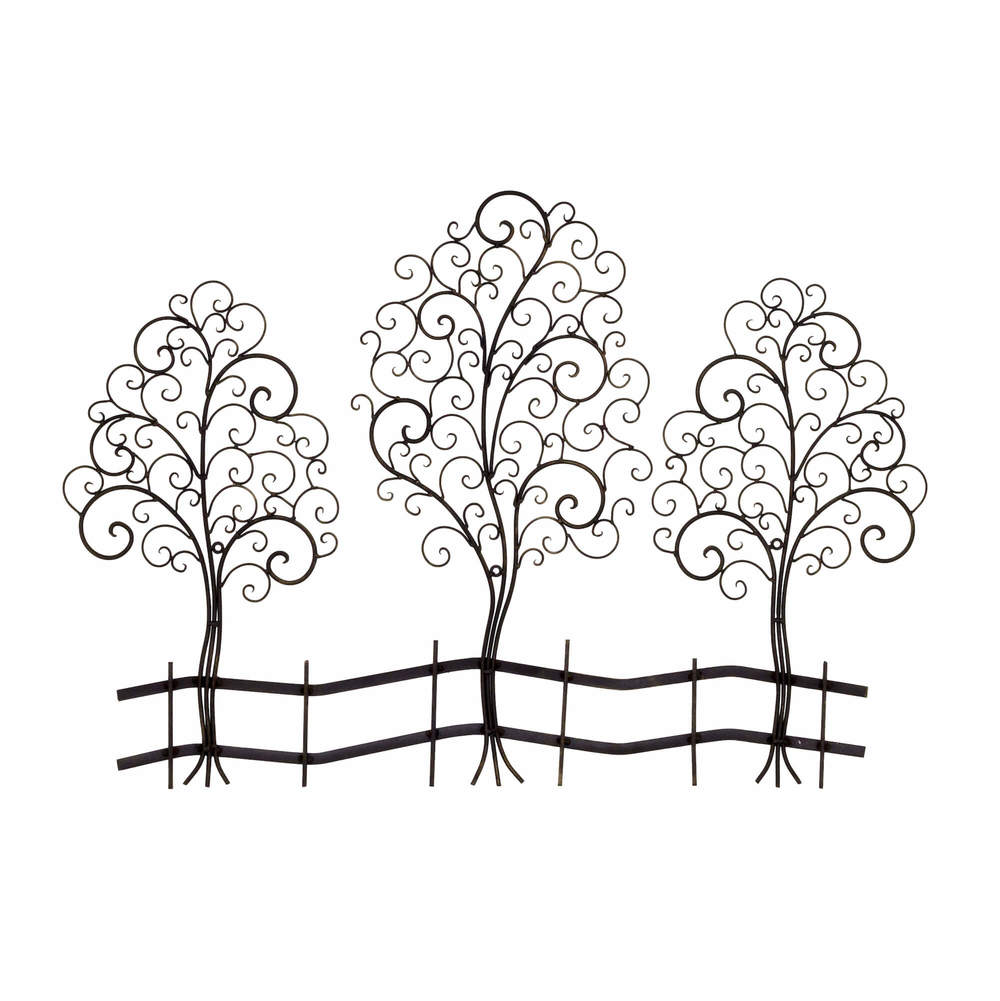 metal tree sculpture wall art gm  metal tree sculpture wall art: tree scene metal wall art