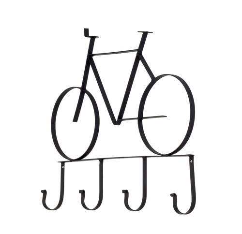 Bicycle Wall Art metal bicycle wall art with hooks — the french peddler