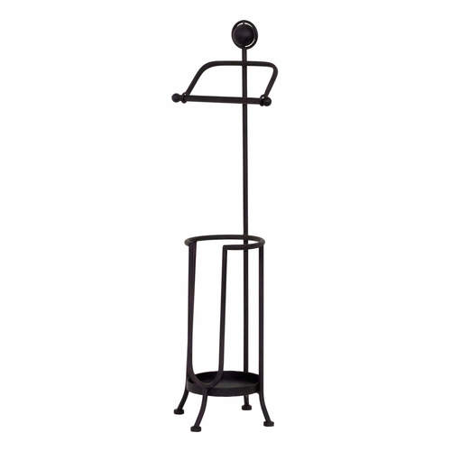 Classic Iron Toilet Paper Holder Stand The French Peddler