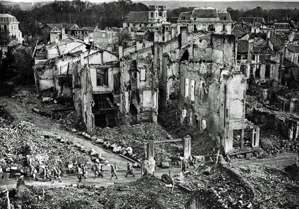 Aftermath of the  Battle of Verdun , World War I