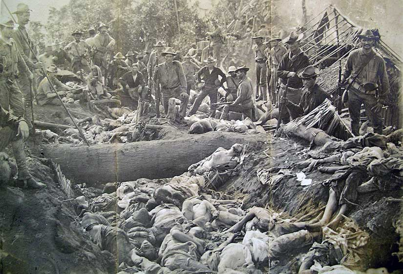 Aftermath of Bud Dajo,  Bud Dajo , Philippine-American War