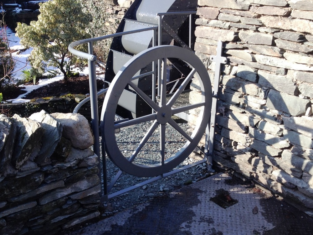 'Waterwheel' gate