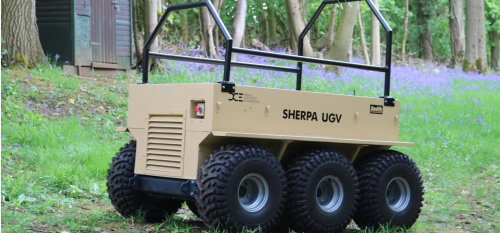 Sherpa UGV British Army trials