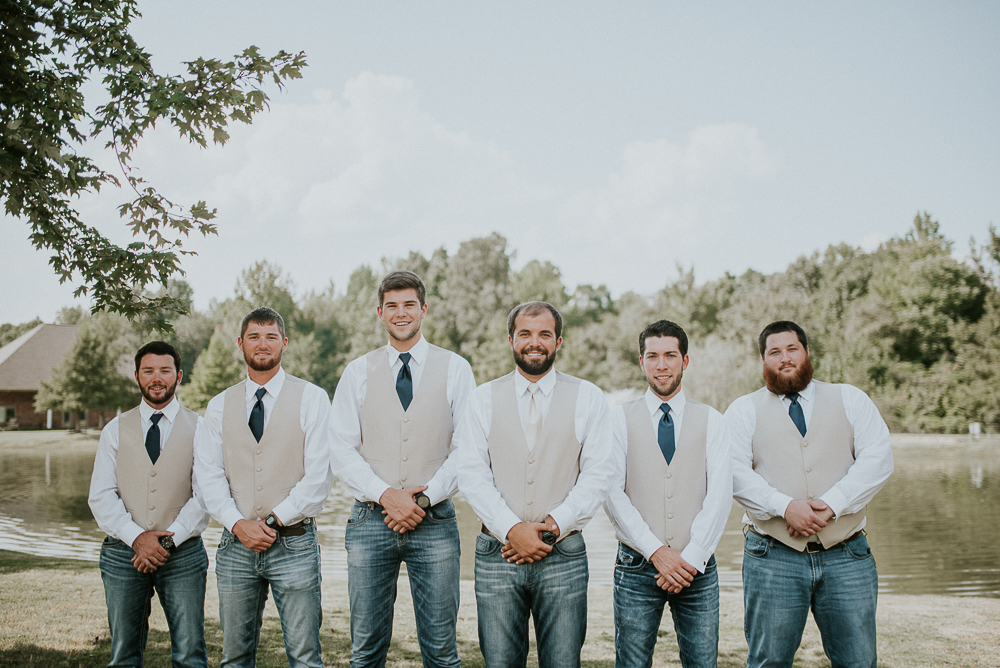 Memphis Wedding Photographer | Cedar Ridge Venue | Paragould, AR Wedding