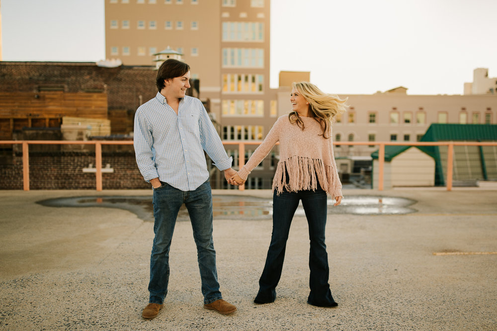 Memphis Wedding Photographer, Downtown Memphis Couple Session