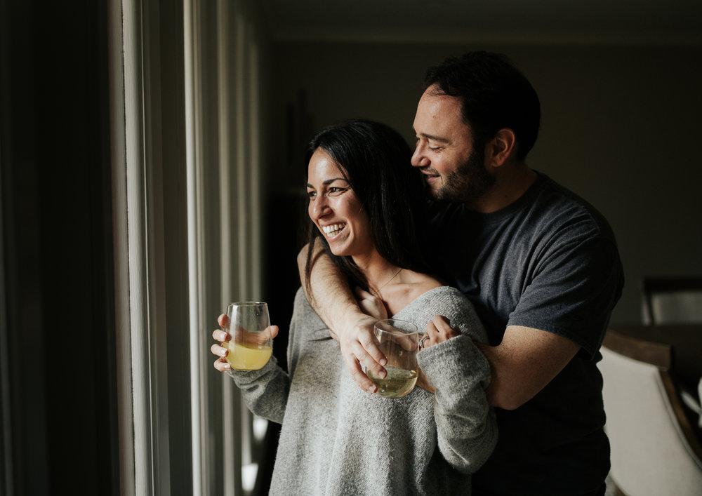 Top Memphis Wedding Photographer | Cozy Lifestyle Session