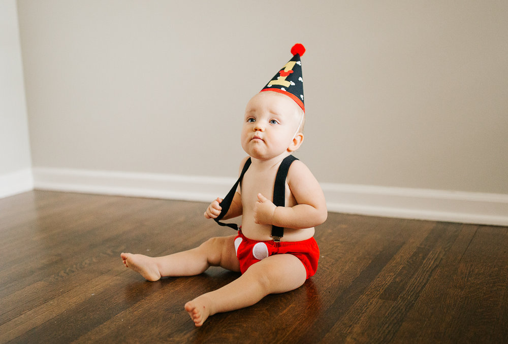 Memphis family photographer, Cake smash photoshoot