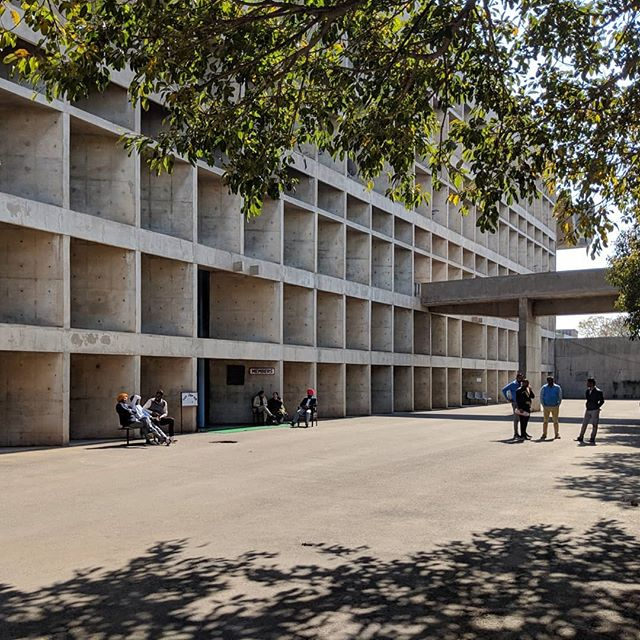A survey of regional modernisms: Le Corbusier's Palace of Assembly at Chandigarh, 1963. #chandigarh #lecorbusier