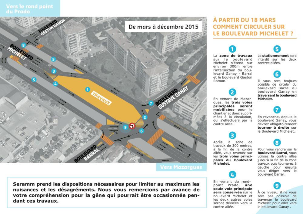Voici les nouveaux plans de circulation. Cliquez dessus pour les agrandir.