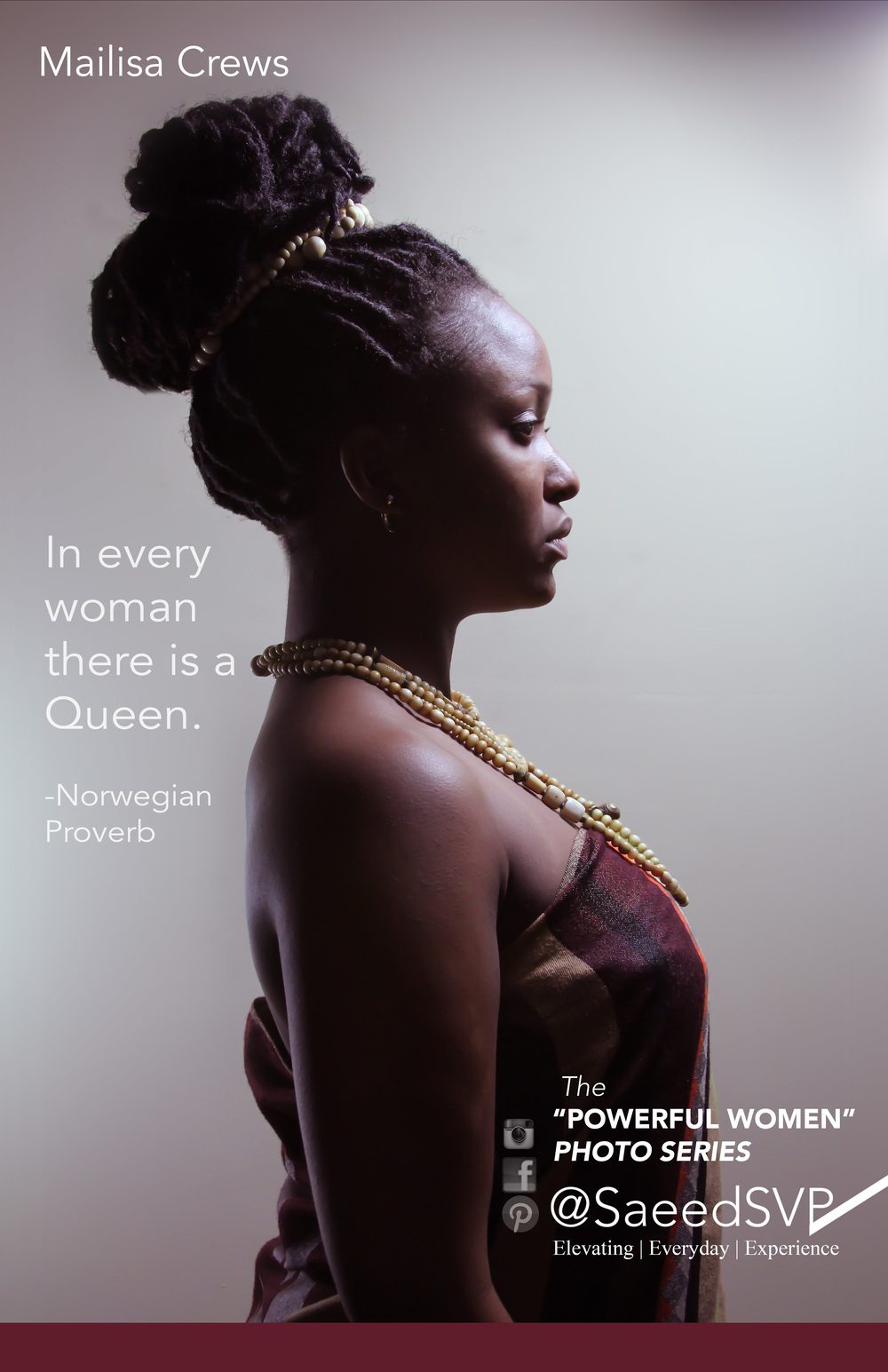 What Queen's Do you know?    Join the conversation as we discover Powerful Women and acknowledge the ones we know.  The woman above has been acknowledged for her Queen like attributes.  Queen's are supreme by lineage and have the authority to address pressing issues.    Share this image with a woman you think is applying her authority to make the world a better place using the hashtag  #icTheQueeninU