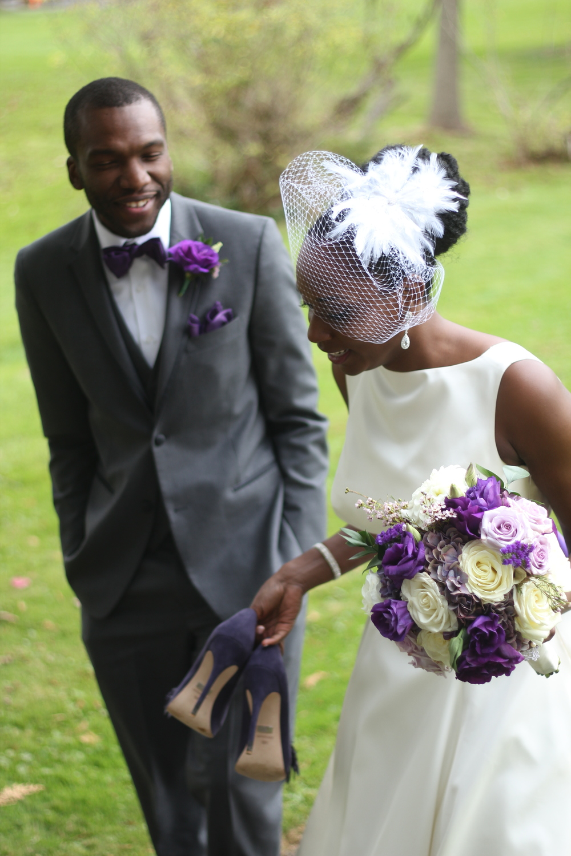 Mr. & Mrs. Quinerly Wedding- Akwaaba mansion poconos