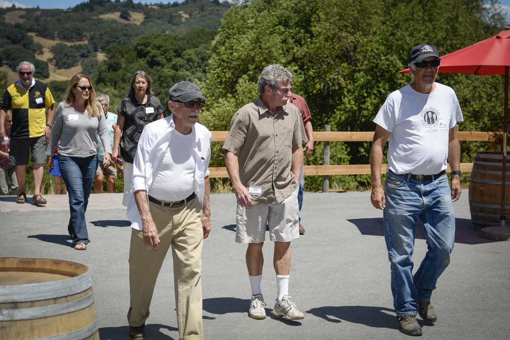 Guests arriving at The Highlands Estate