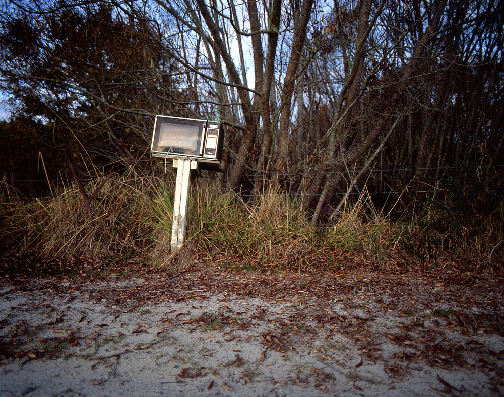 Yes, it's a microwave mailbox. The future.