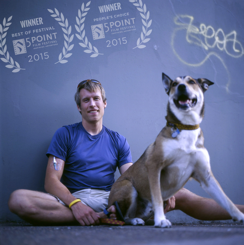 Photographer Ben Moon and his friend Denali [photo by Lisa Skaff]