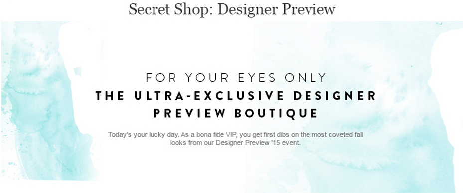 SECRET SHOP CATEGORY HEADER