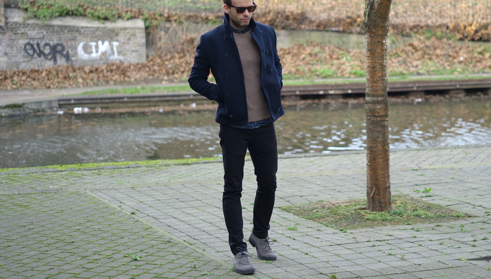 Casual Snob All Saints Peacoat 1.JPG