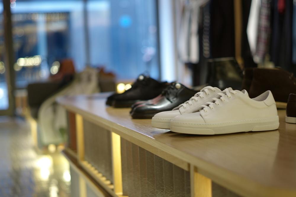 Casual snob A.P.C. store