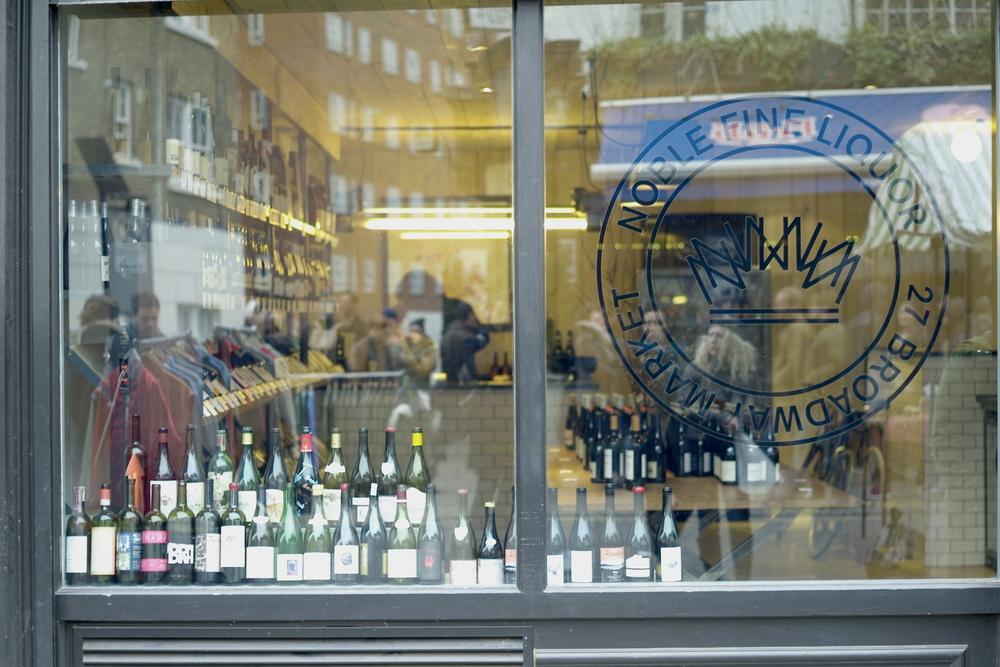 Casual snob Broadway Market Street Wine Store