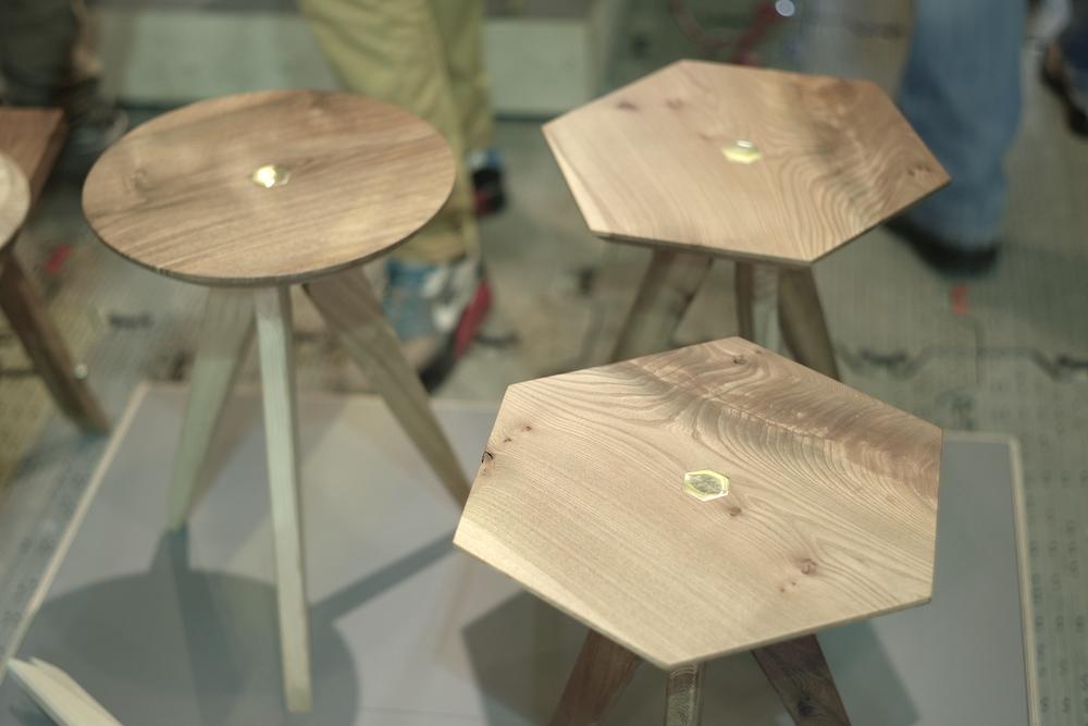 Casual snob - Ted Wood stools.JPG